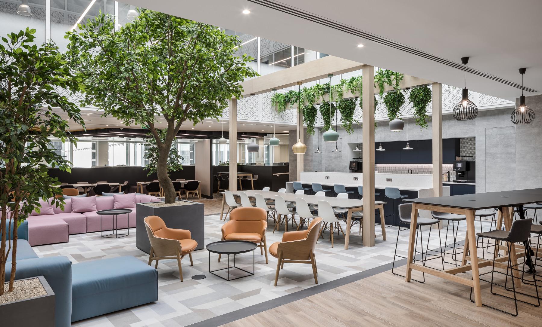 A Look Inside Crowe UK's Modern London Office