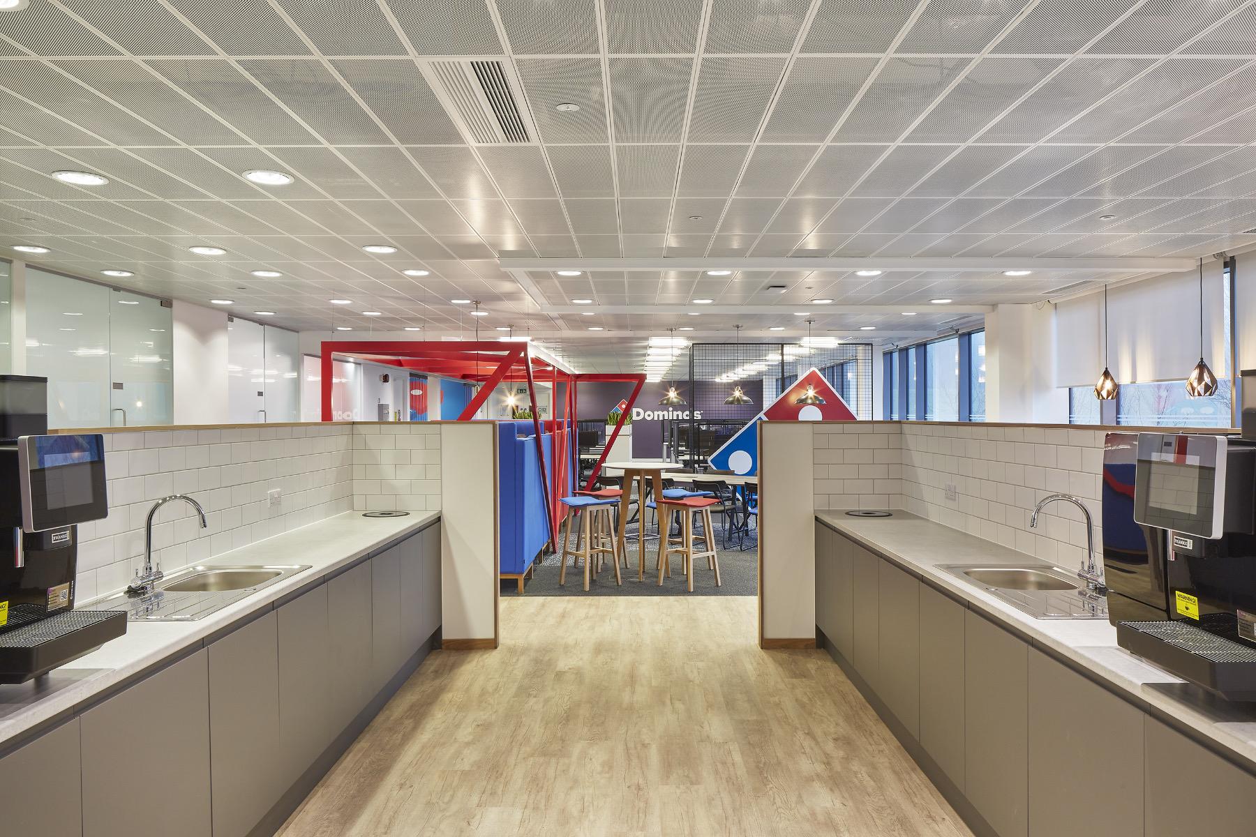 A Peek Inside Domino's Pizza's Milton Keynes Office