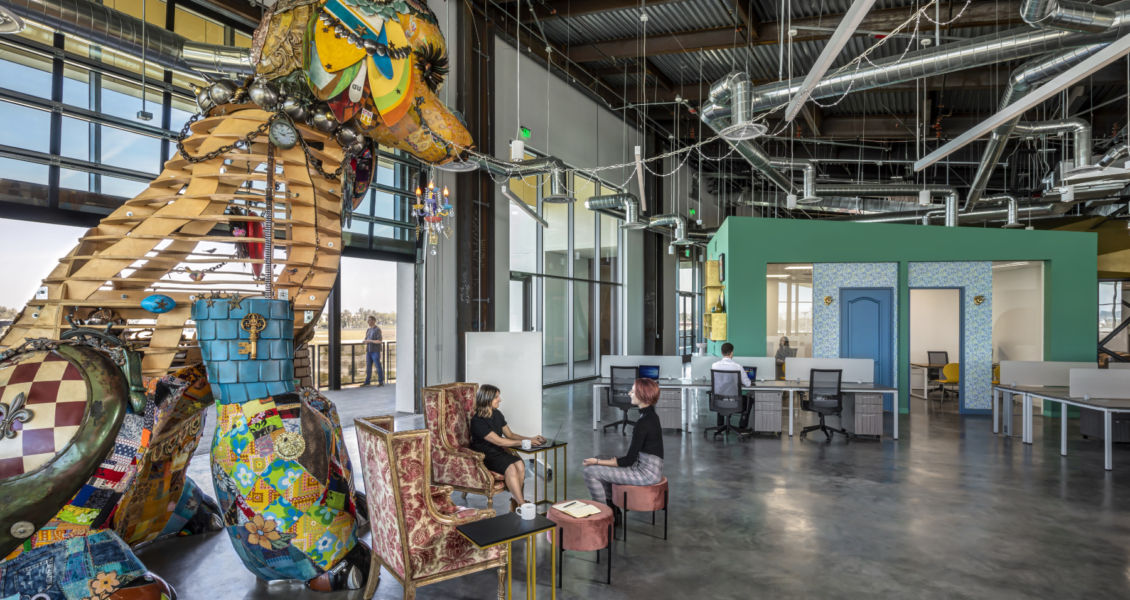 A Look Inside Nogin's New Tustin Office