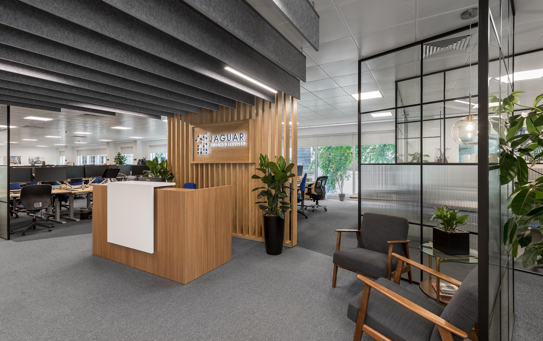 A Look Inside Jaguar Building Services' New London Office