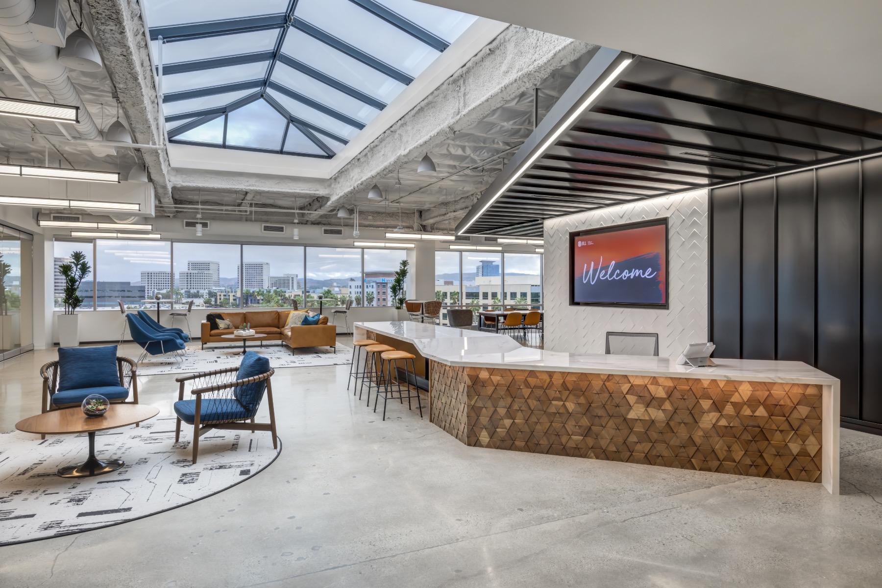 A Look Inside JLL's Sleek New Irvine Office