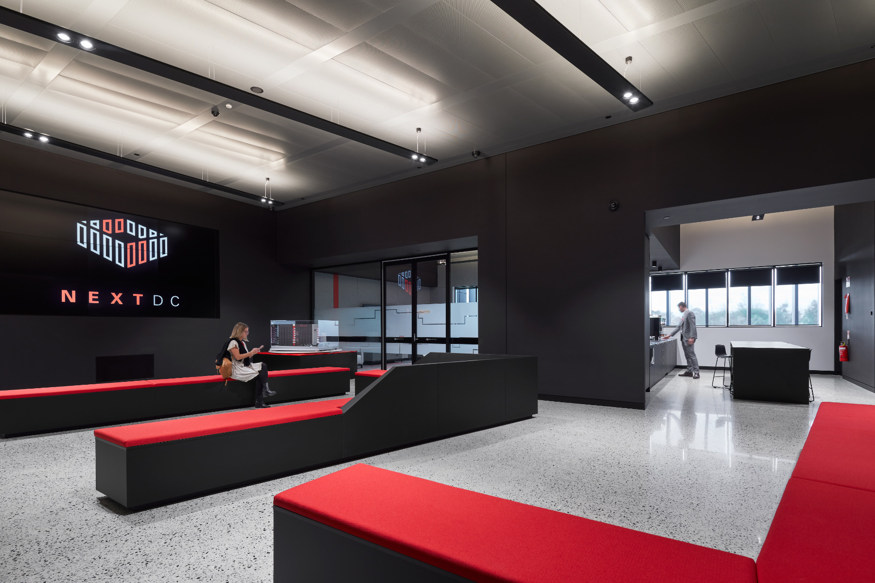 A Look Inside NEXTDC's New Perth Office