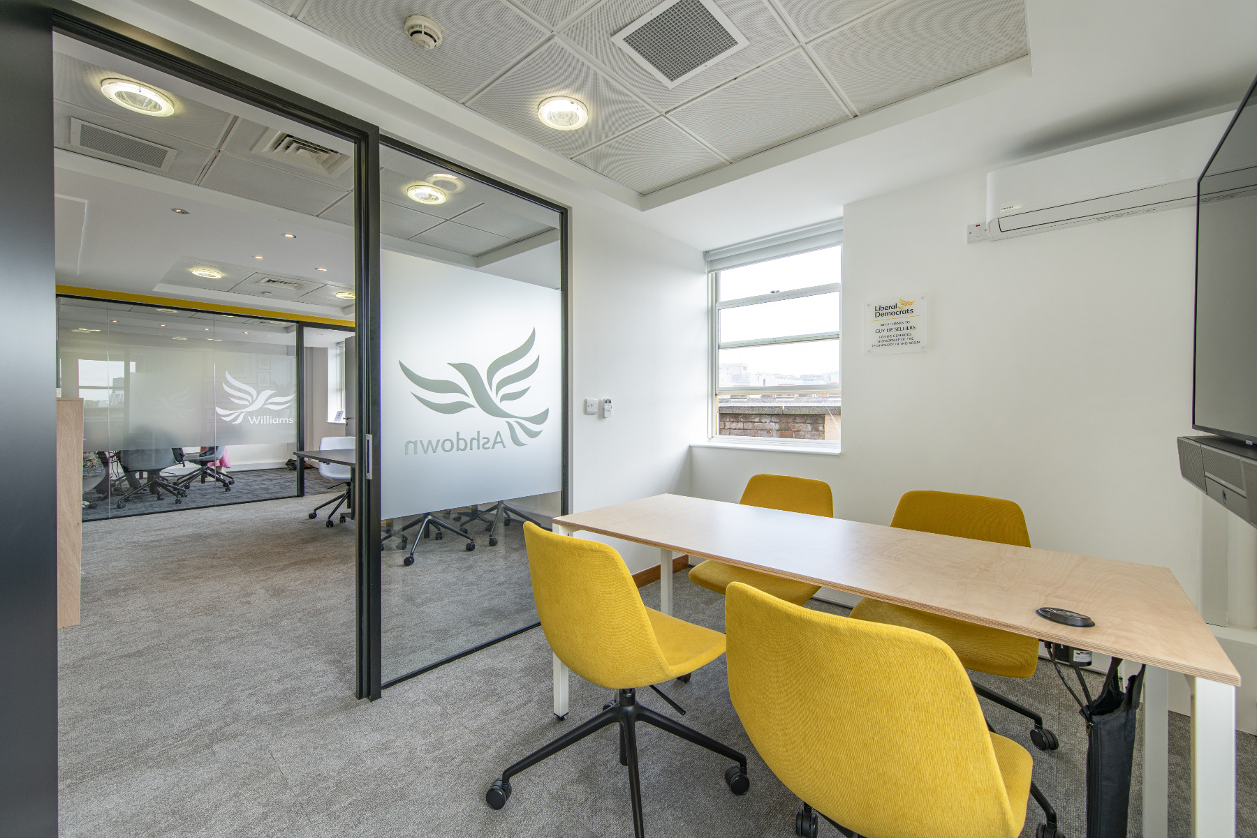 A Tour Of Liberal Democrats' New London Office