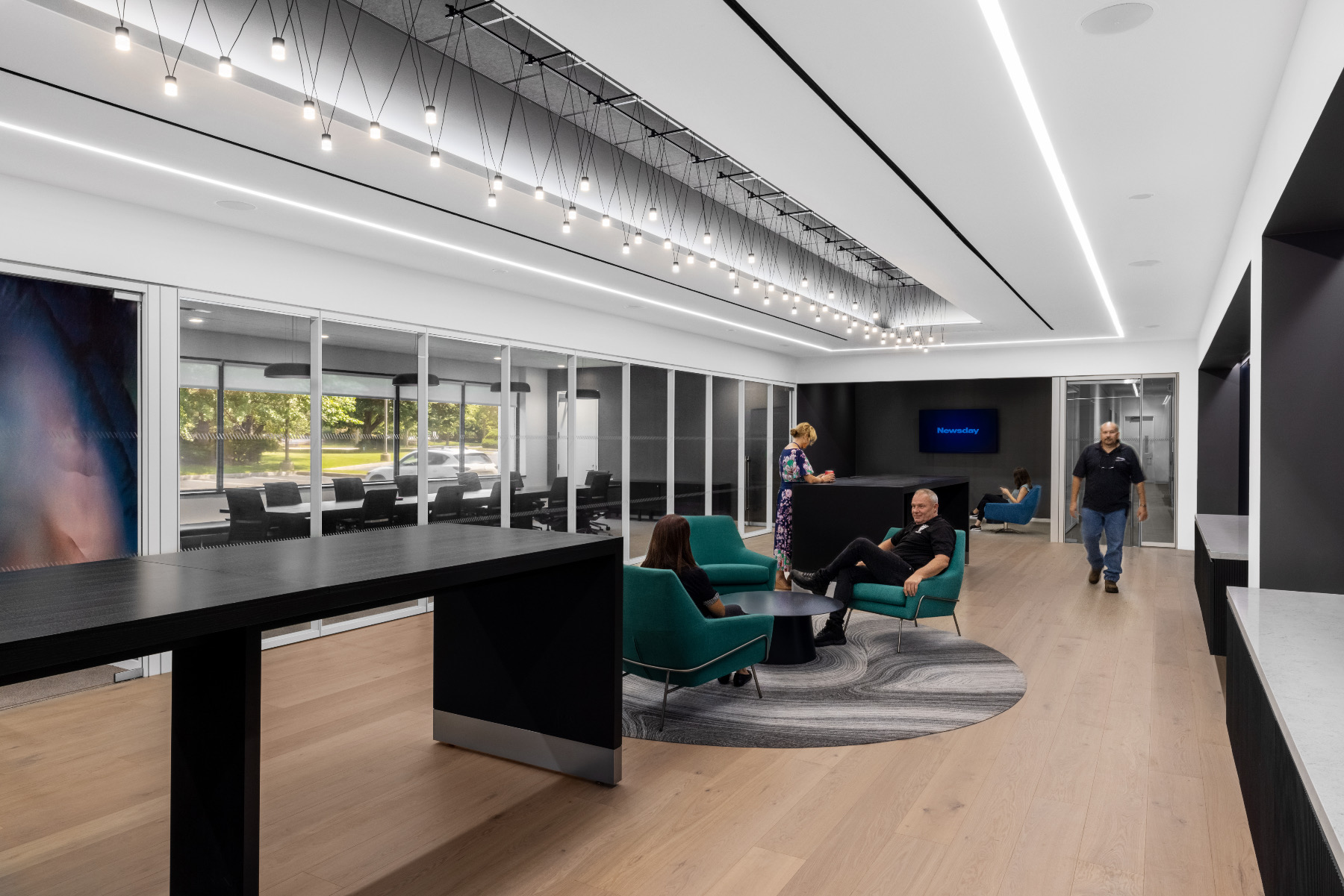 A Look Inside Newsday's New Melville Office